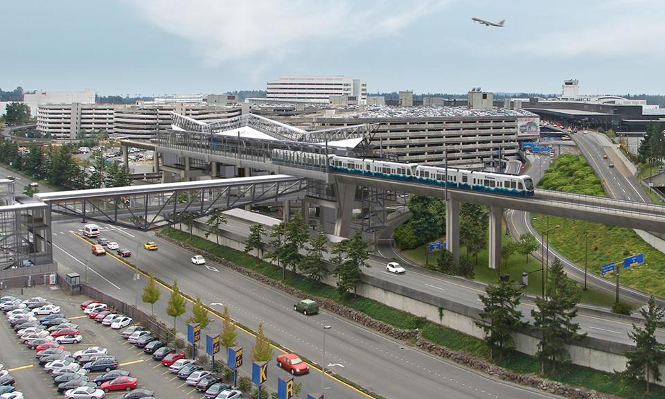 South Link Extension, Sea-Tac Airport Station to South ...